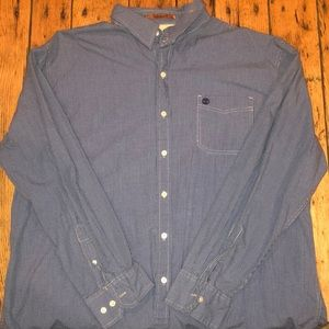 Timberland Blue Checkered Button Down